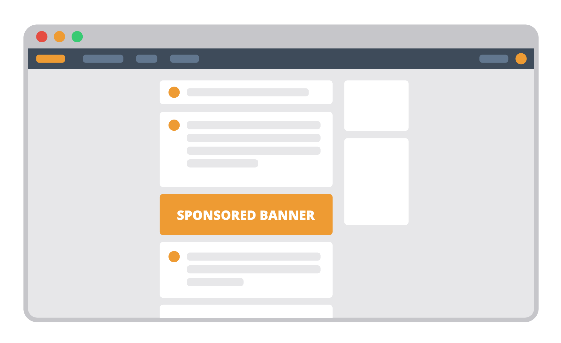 visual banner